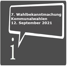 Icon 7. Wahlbekanntmachung