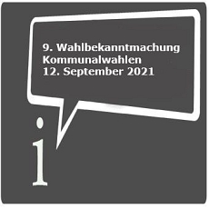 Icon 9. Wahlbekanntmachung